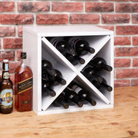 white wine cube, white wine rack, white wine storage, white stackable wine cube, white wine cubes, white wine cube storage, white wine rack cube, white modular wine storage, white modular wine cubes