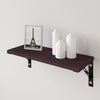 "23"" Thin Wall Shelf with Bracket, Espresso (4 units left!)"