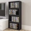 storage, box, organizer, PS4, video game, media, shelf, furniture Blu-ray