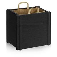 paper bag holder, grocery bag holder, paper bag frame, grocer bag frame, recycle bin, trash bin, trash can, recycling