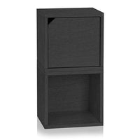 black bookshelves, black storage cubes, black cube storage, black cubbies, black cubby storage, black storage cube, black cube bookcase, black stackable storage cubes, black cube with door