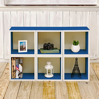 blue bookshelves, blue storage cubes, blue cube storage, blue cubbies, blue cubby storage, blue storage cube, blue cube bookcase, blue stackable storage cubes