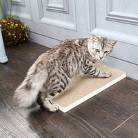 Simple Cat Scratcher 3 Pack, White (pre-order ships 6/24)