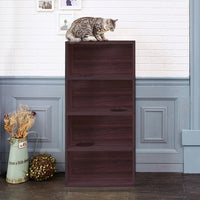Cat Jumping Bookcase, Espresso