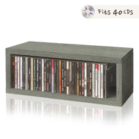 CD Rack, Grey (pre-order ships 5/10)