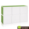 Modular Cubes (Set of 6) - Green