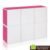 Modular Cubes Plus (Set of 6) - Pink