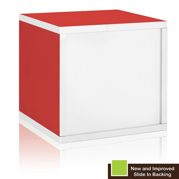 Bon Red Bookshelves, Red Storage Cubes, Red Cube Storage, Red Cubbies, Red Cubby