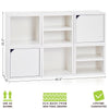 white bookshelves, white storage cubes, white cube storage, white cubbies, white cubby storage, white storage cube, white cube bookcase, white stackable storage cubes