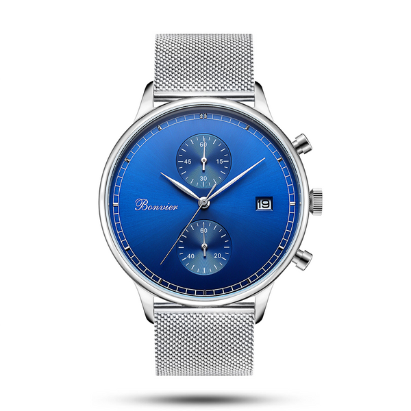 LUGANO BLUE/S (42 mm)