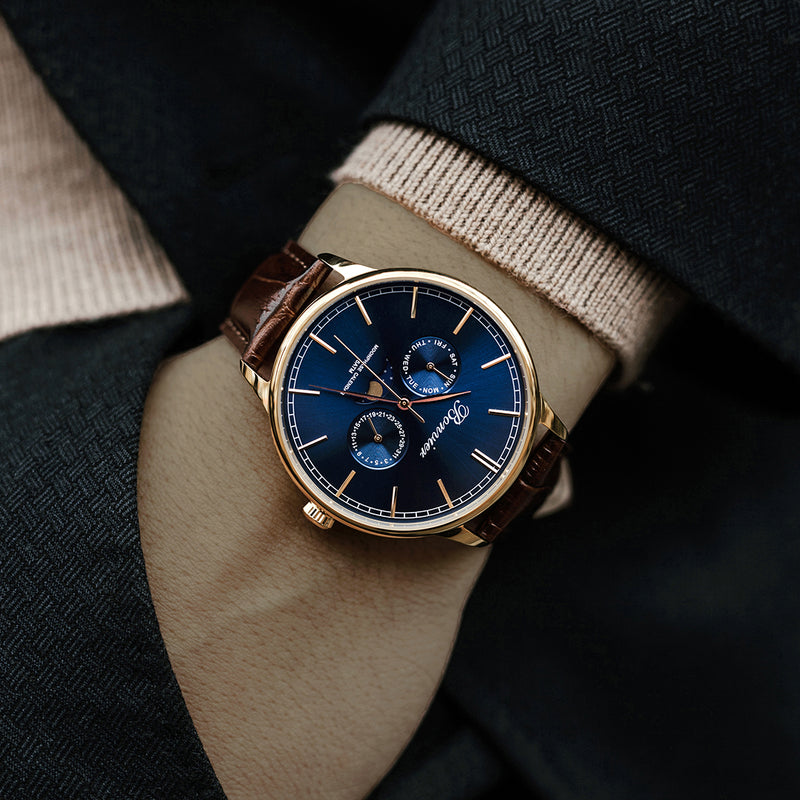 CAVOUR BLUE/G (42 mm)
