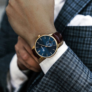 NAVONA BLUE/G (41 mm)