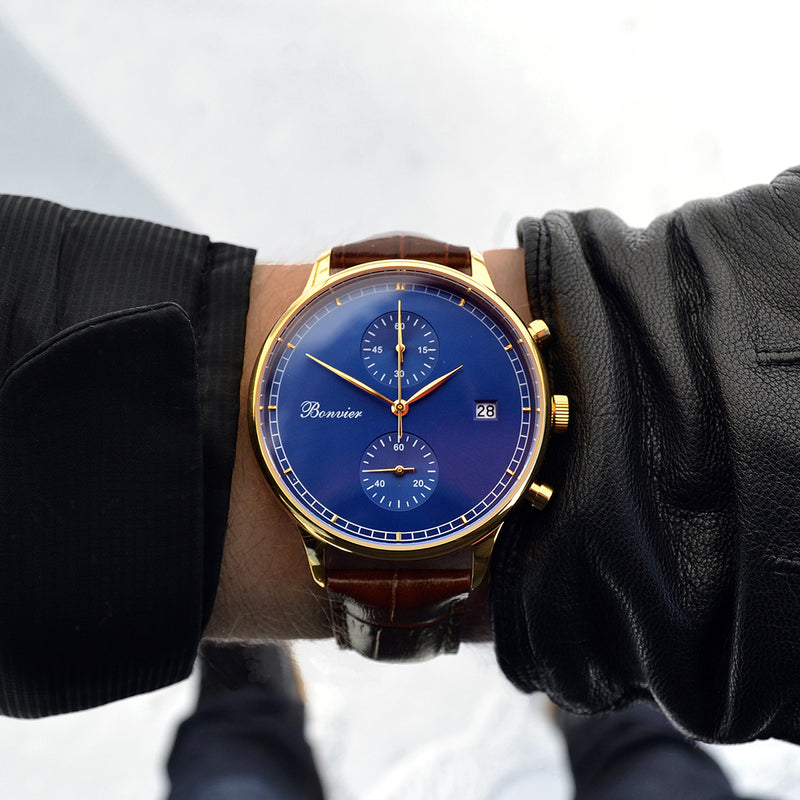 LUGANO BLUE/G (42 mm)