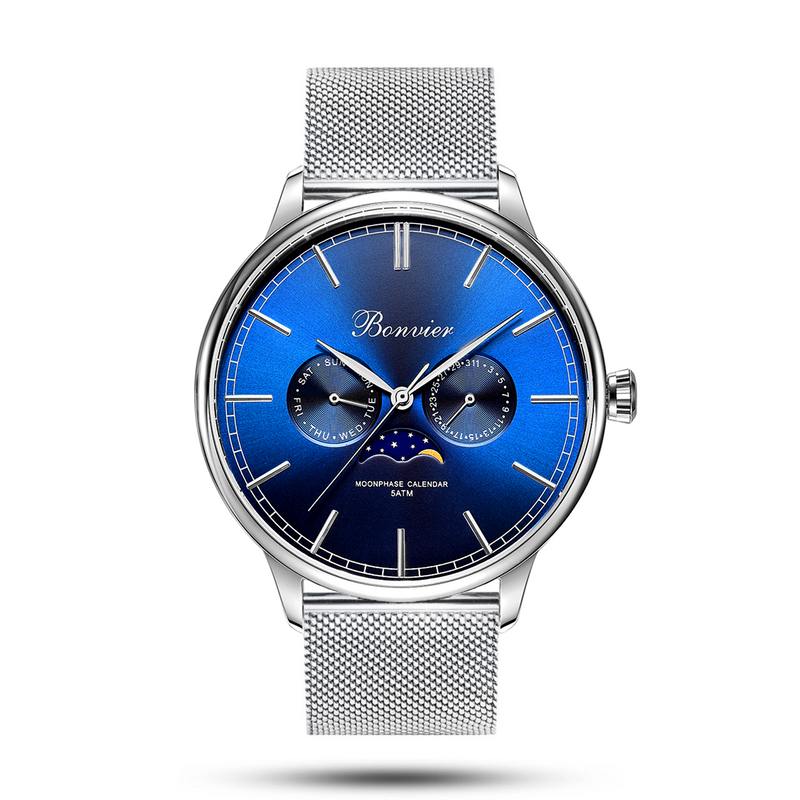 CAVOUR BLUE/S (42 mm)