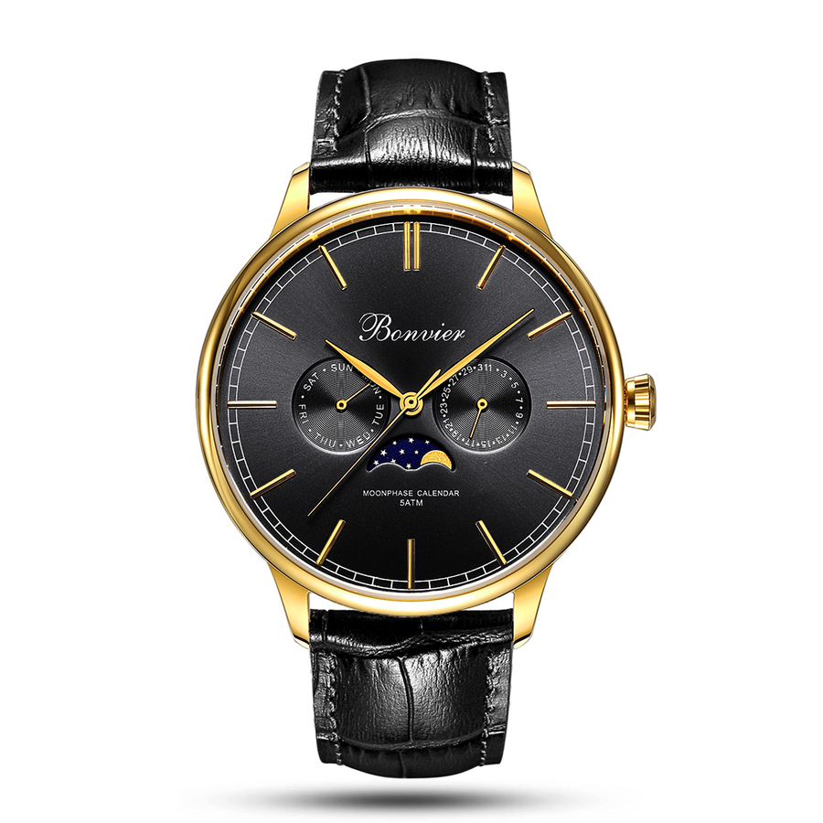CAVOUR BLACK/G (42 mm)