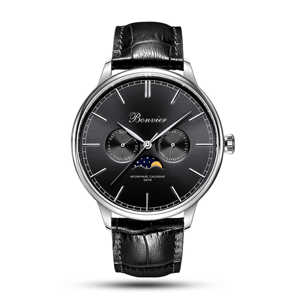 CAVOUR BLACK/S (42 mm)