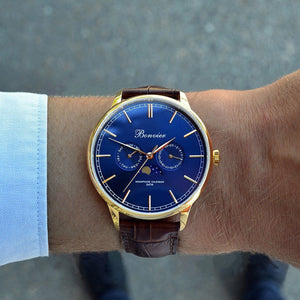 Watch - CAVOUR BLUE/G (42 Mm)