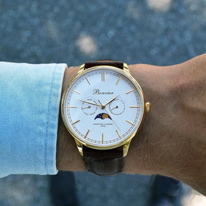 Watch - CAVOUR WHITE/G (42 Mm)