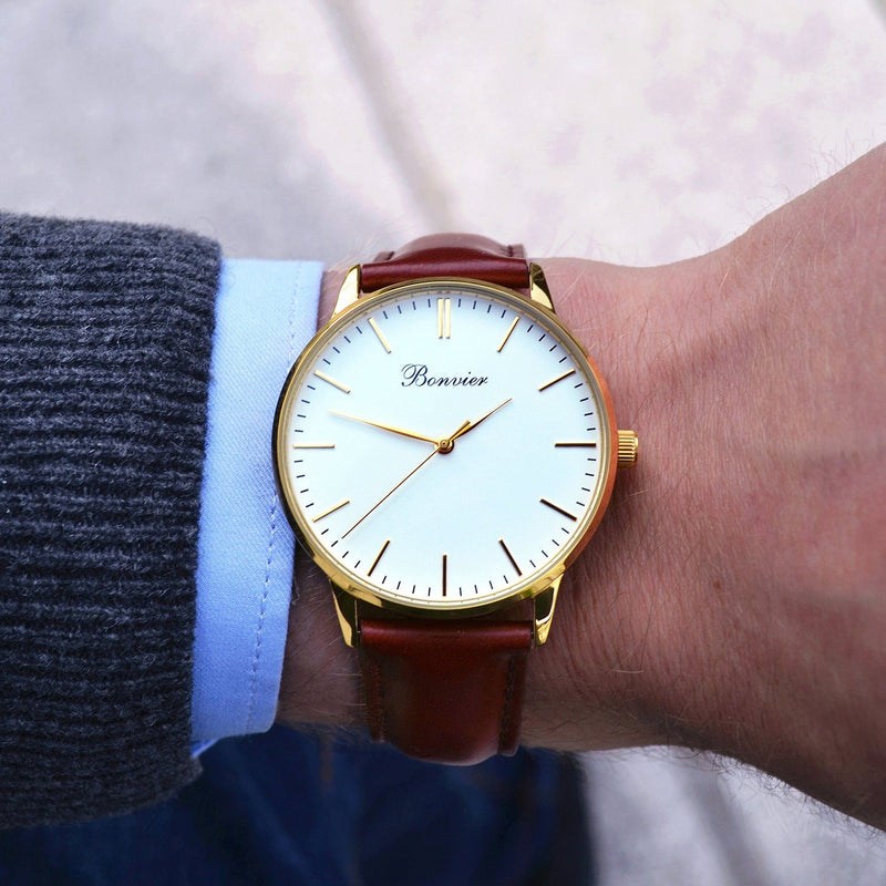 Watch - CLASSIC WHITE/G (40 Mm)