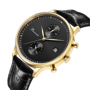 Watch - LUGANO BLACK/G (42 Mm)