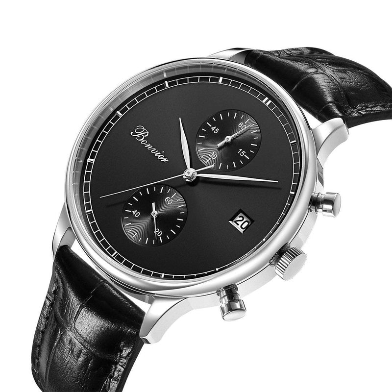 Watch - LUGANO BLACK/S (42 Mm)