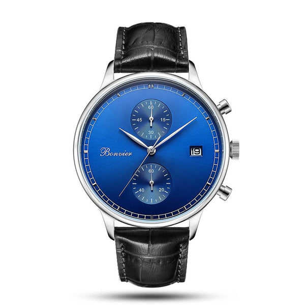 Watch - LUGANO BLUE/S (42 Mm)