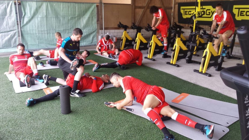 THE AUSTRIAN NATIONAL TEAM RECOVERS WITH BLACKROLL®