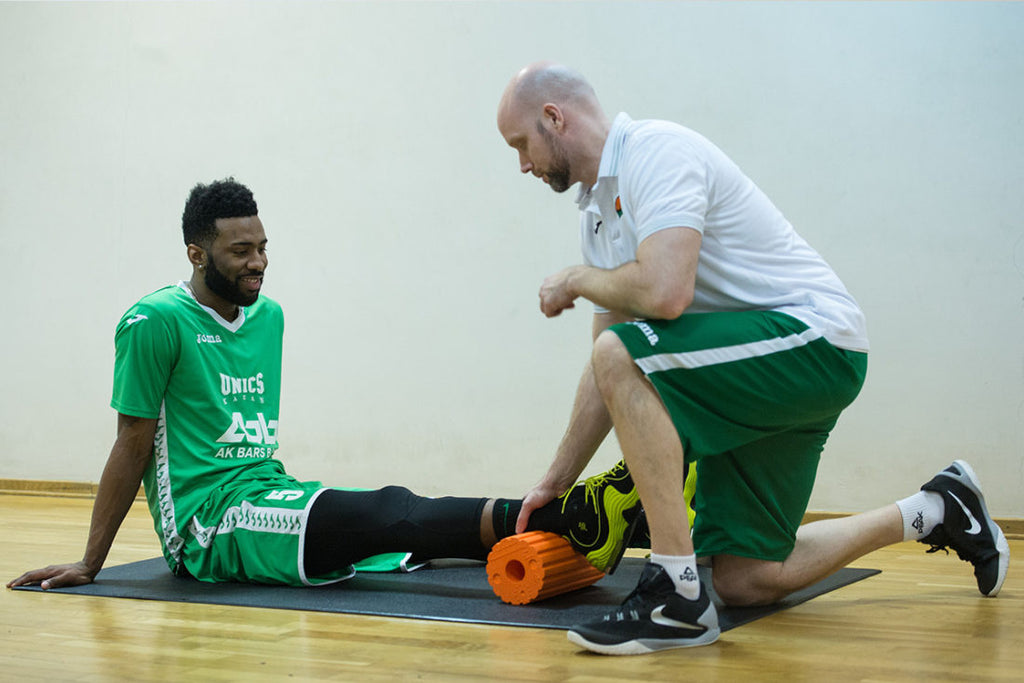 BASKETBALL: S&C COACH MARCUS LINDNER TRUSTS ON BLACKROLL®