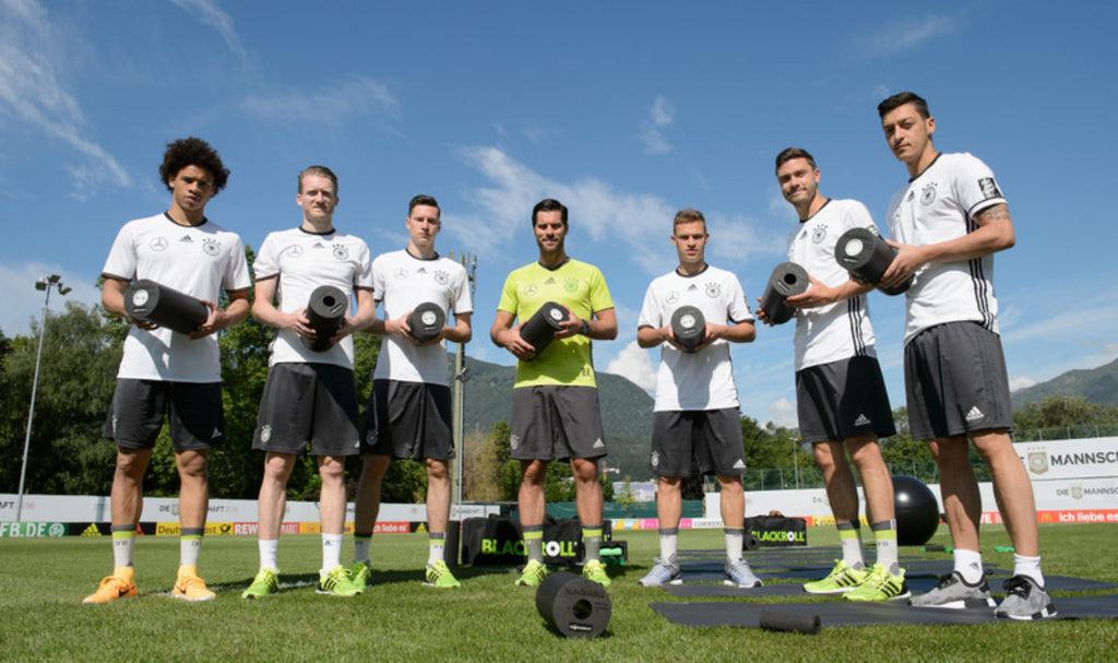 "GERMAN NATIONAL FOOTBALL TEAM: BLACKROLL® IS OFFICIAL LICENSE PARTNER OF ""DIE MANNSCHAFT"""