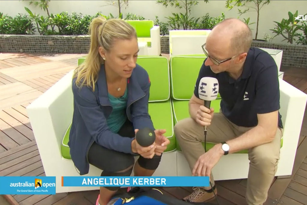 ANGELIQUE KERBER CLAIMS TITLE AUSTRALIAN OPEN 2016 AND WHAT'S HER SECRET WEAPON?