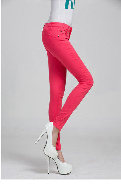 Woman jeans Solid