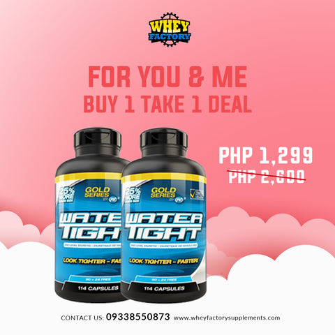 PROMO! Buy 1 Get 1 PVL Water Tight 90 capsules
