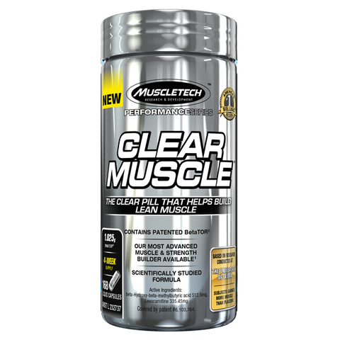 MUSCLETECH Clear Musle 168 caps