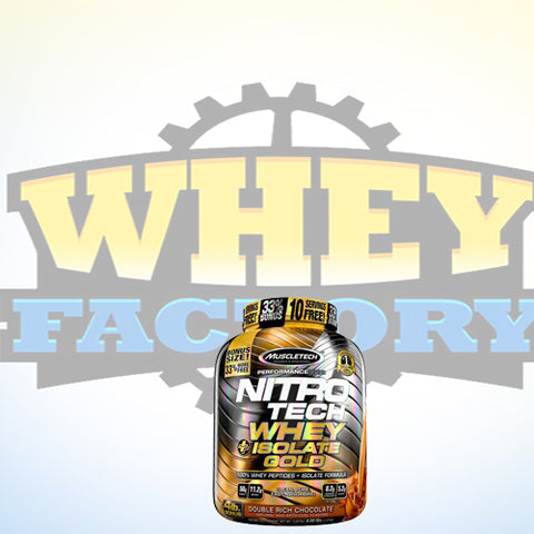Muscletech Nitrotech Gold + Isolate 4lbs
