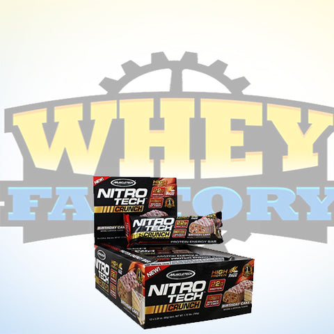 Muscletech Nitrotech Crunch 1box