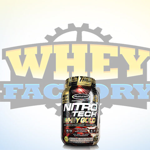 Muscletech Nitrotech Gold 2.2lbs
