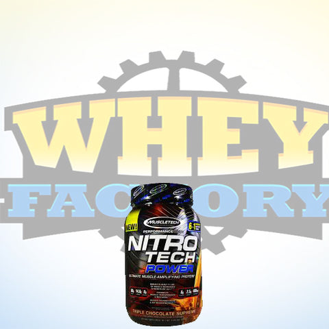 Muscletech Nitrotech Power 2lbs