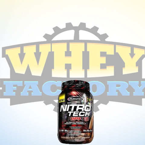 Muscletech Nitrotech Ripped 2lbs