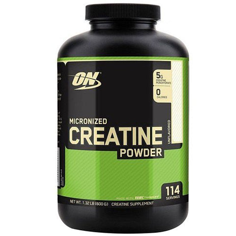 Optimun Nutrition Micronized Creatine Powder 600 grams
