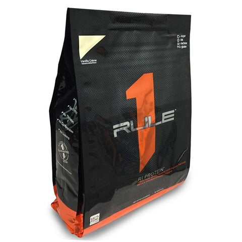 RULE 1 Whey Protein Isolate 10lbs/40srvg