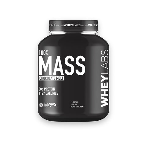 WheyLabs Mass Gainer 7lbs w/ FREE Shaker - Weight gain Supplement
