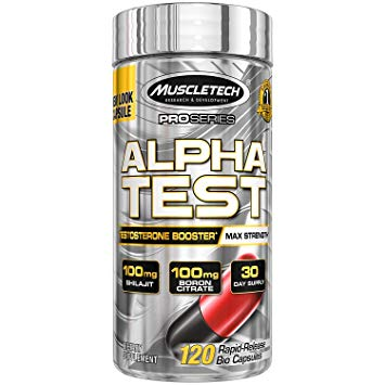 MUSCLETECH Alpha Test 120caps