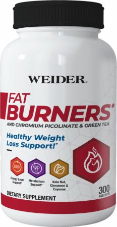 WEIDER Fat Burners 300 tablets