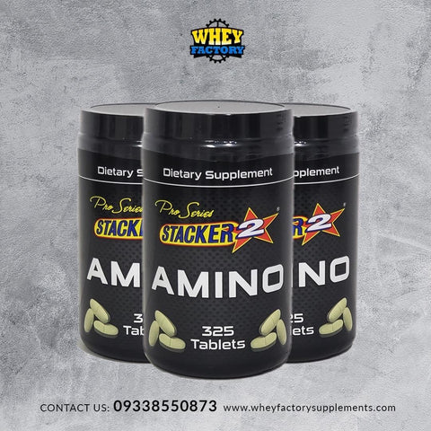 Stacker Beef Amino 325 Tablets