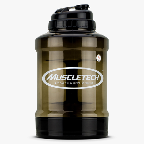 Muscletech Power LIter Jug 2.6L - with Powder Compartment