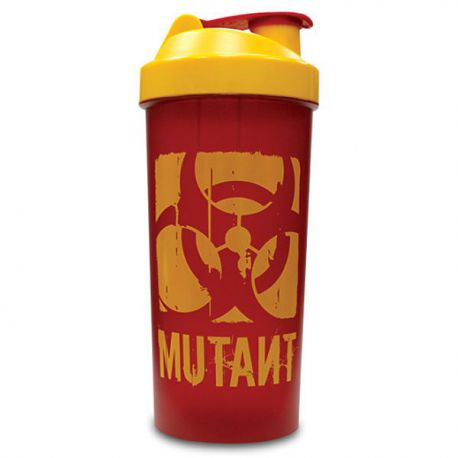 Mutant Shaker w/ Powder Compartment - Red Edition