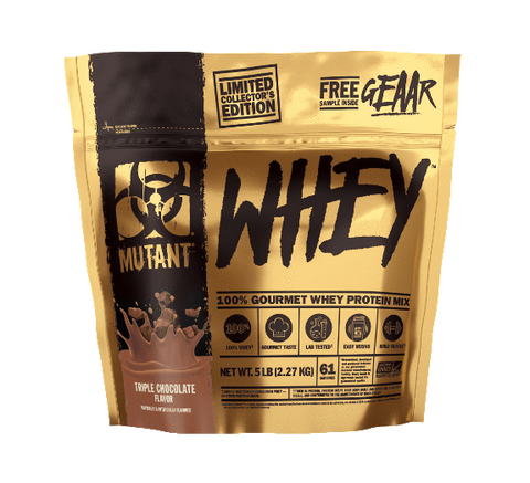 Mutant Whey 5lbs with FREE shaker