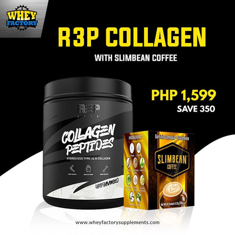 R3P Collagen with FREE Slimbean Coffee