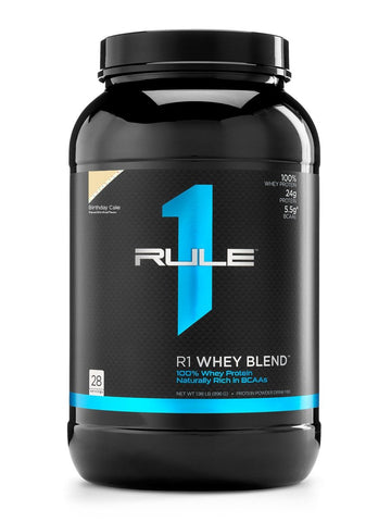 RULE 1 Whey Blend 2lbs/28 servings