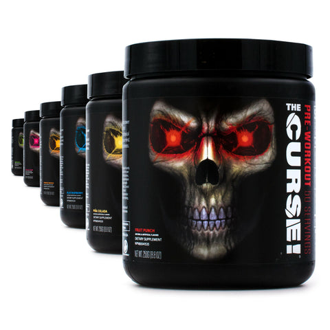 The Crurse Pre-Workout - Fruit Punch 50 servings